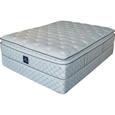 Full Super Pillow Top Latex Mattress and Box Spring