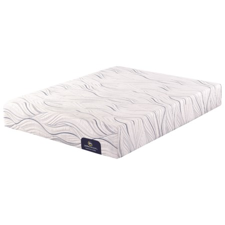 Twin Extra Long Plush Gel Memory Foam Mattress and Motion Essentials III Adjustable Base