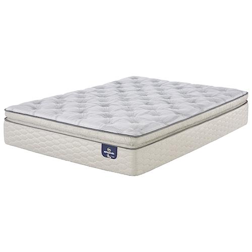 Serta alverson super pillow top firm full firm super for Best pillow for firm mattress