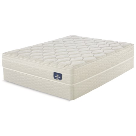 "King Euro Top Mattress and 9"" StabL-Base® Foundation"
