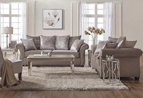 Serta Upholstery Cosmos 5pc Living Room Set Rotmans