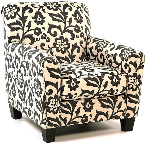 Signature Design By Ashley Central Park Accent Chair In Floral Print Rotmans Upholstered