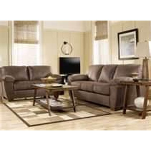 Signature Design By Ashley Furniture Amazon Walnut 8 Piece Living Room Grou