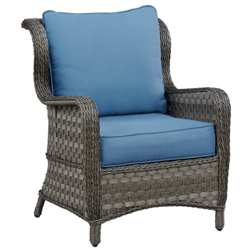 Signature Design by Ashley Abbots Court Outdoor Lounge