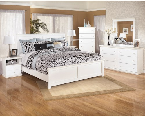 Signature Design By Ashley Bostwick Shoals King Bedroom Group Furniture Barn Bedroom Groups