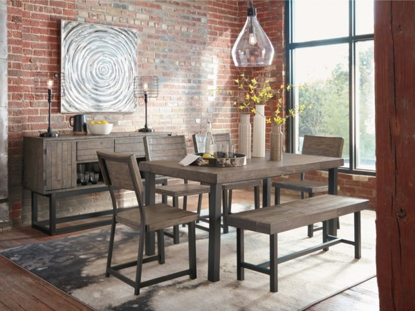 page 4 of casual dining room group rocky mount roanoke. Black Bedroom Furniture Sets. Home Design Ideas