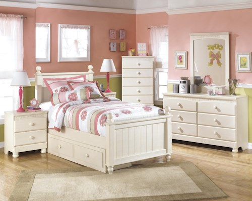 Signature Design By Ashley Cottage Retreat Twin Bedroom Group Furniture Barn Bedroom Group