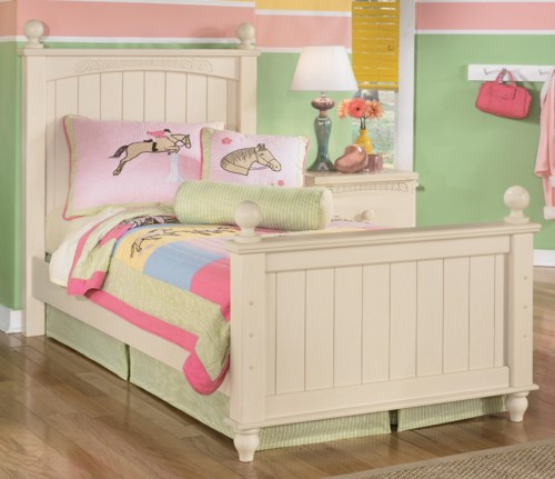 cottage retreat bedroom set signature design by cottage retreat poster bed 15027