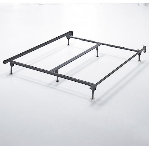 Value City Furniture Bed Frames: Signature Design By Ashley Frames And Rails Q/K/CK Bolt On