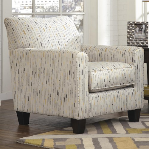 Signature design by ashley hodan 7970021 accent chair for Furniture 0 percent financing