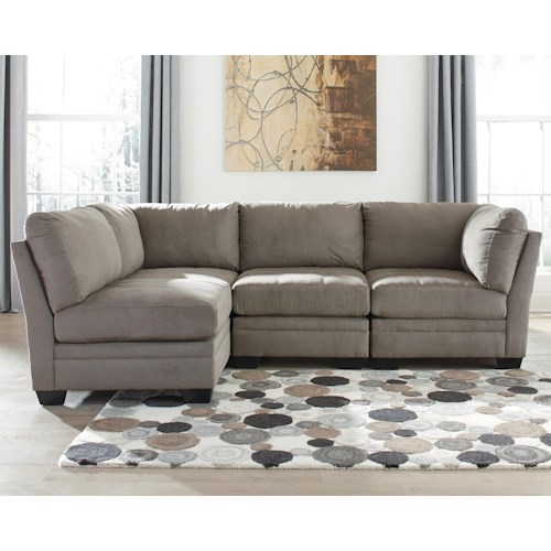 Modular Sectional Sofa Ashley: Signature Design By Ashley Furniture Iago 4-Piece Modular