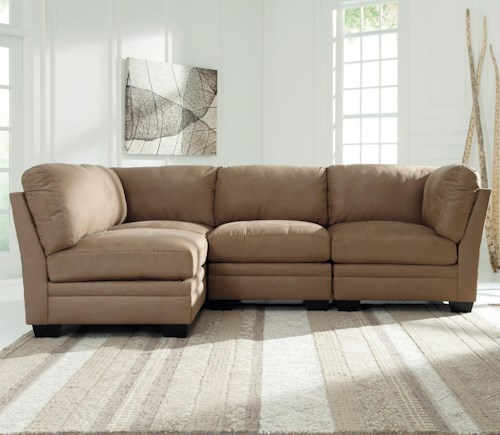 Sectional Sofas Birmingham Al: Signature Design By Ashley Iago 4-Piece Modular Sectional