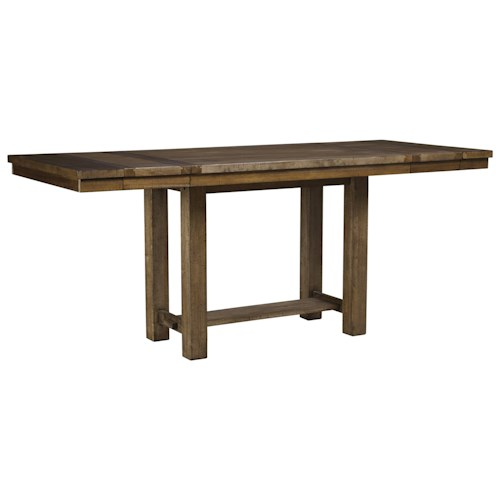 Signature design by ashley moriville rectangular dining for 32 wide dining table