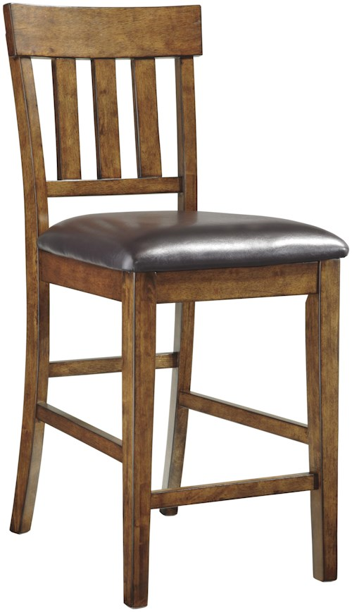 Signature Design By Ashley Ralene Casual Upholstered Barstool Furniture Mart Colorado Bar