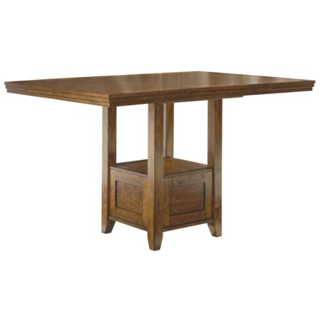 Rectangular Dining Room Counter Extention Table