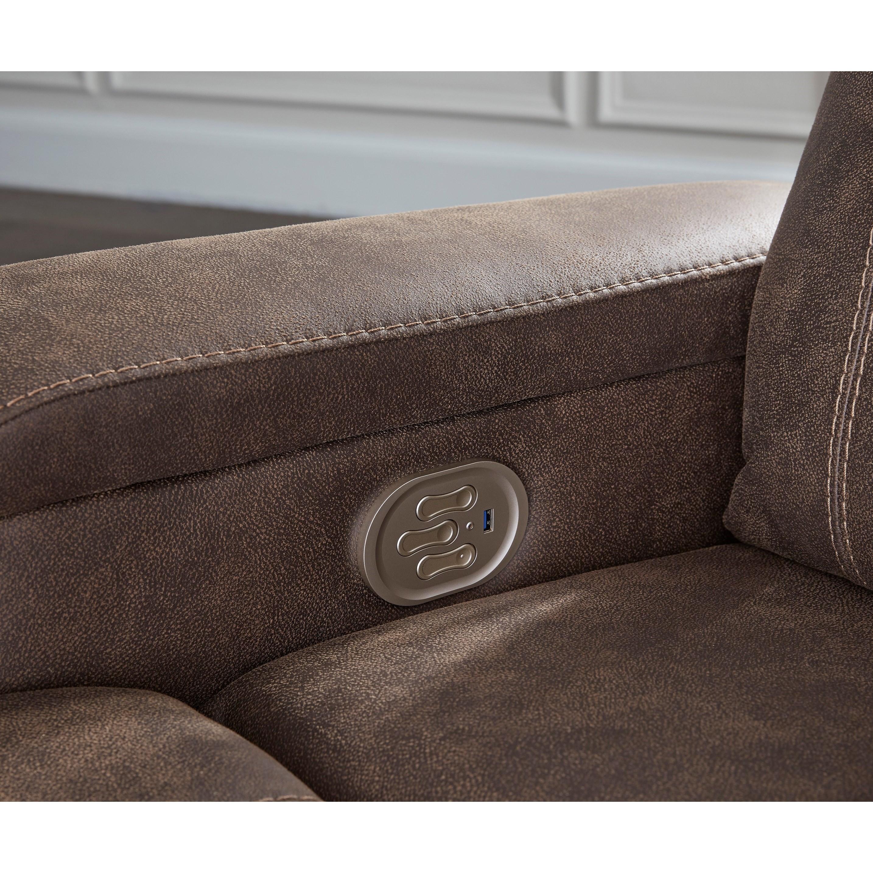 Rowlett Power Recliner with Adjustable Headrest