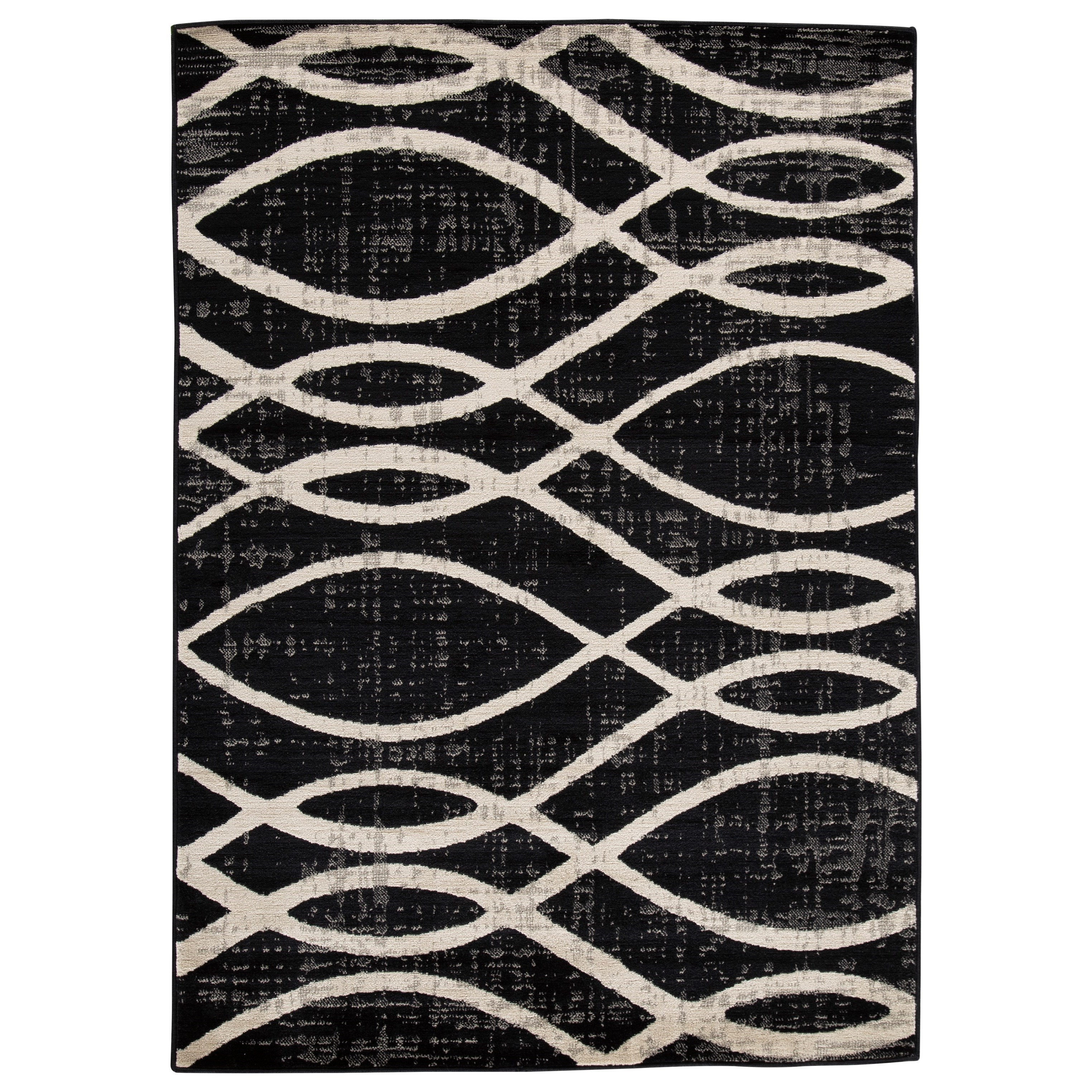 Signature Design By Ashley Contemporary Area Rugs Avi Gray