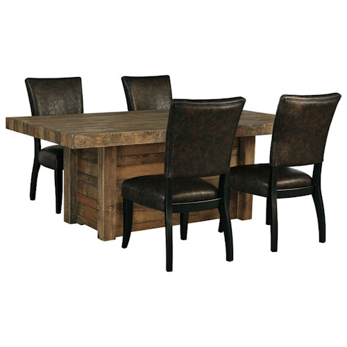 Ashley Furniture Roseville: Signature Design By Ashley Sommerford 5-Piece Rectangular