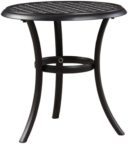 Signature design by ashley tanglevale outdoor round end for Outdoor furniture birmingham al
