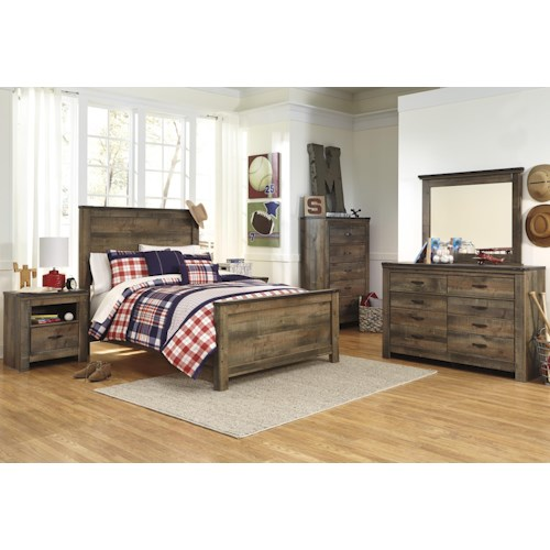Signature Design By Ashley Furniture Trinell Full Bedroom Group Sam 39 S A