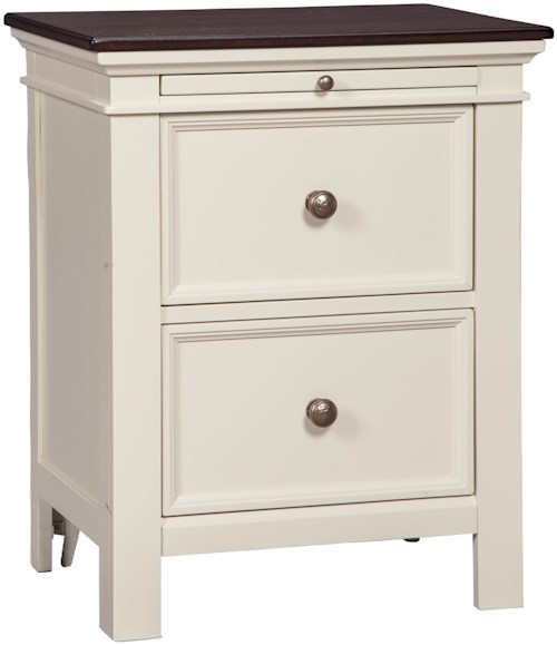 Signature design by ashley woodanville b623 92 two drawer for Furniture 0 percent financing