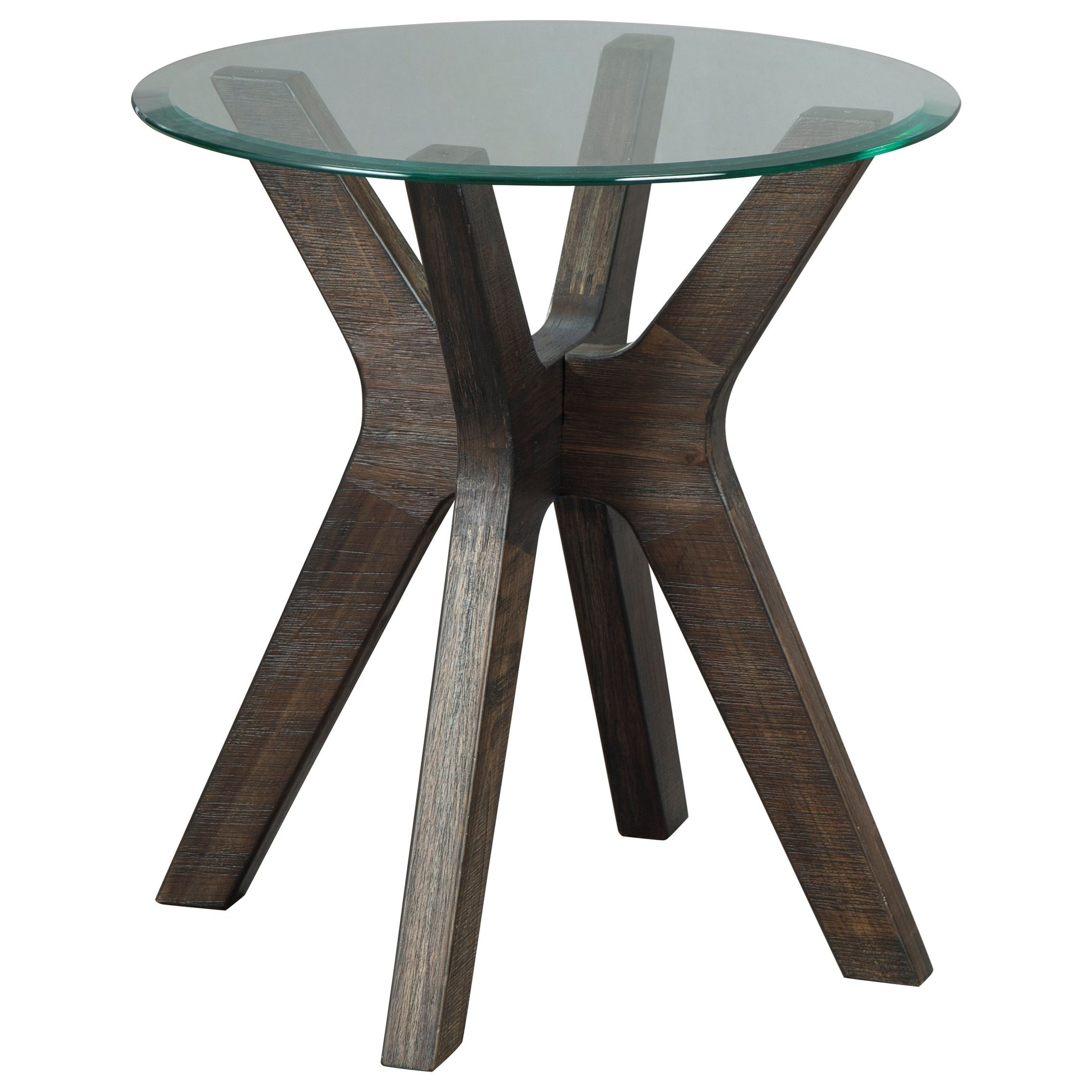 Zannory Round End Table