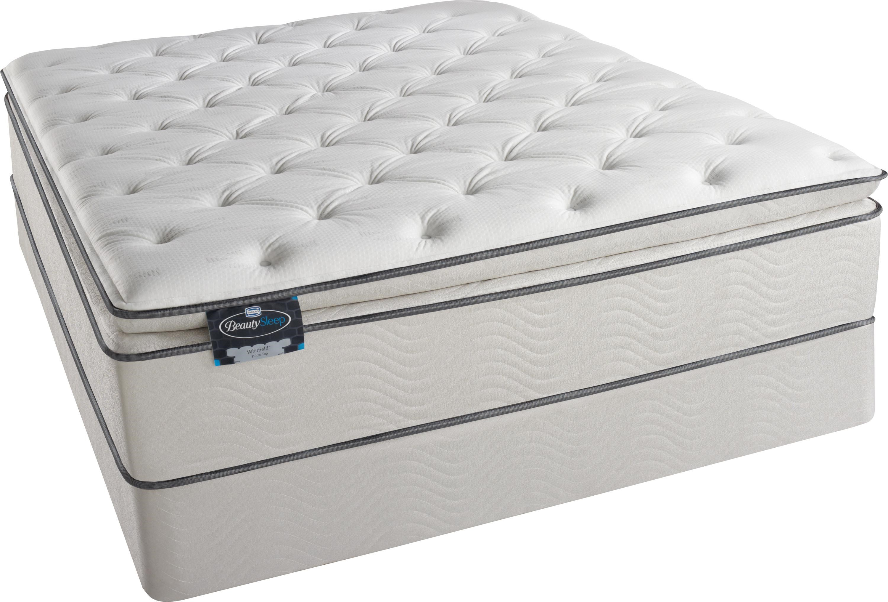 Simmons BeautySleep Whitfield Queen Pillow Top Mattress