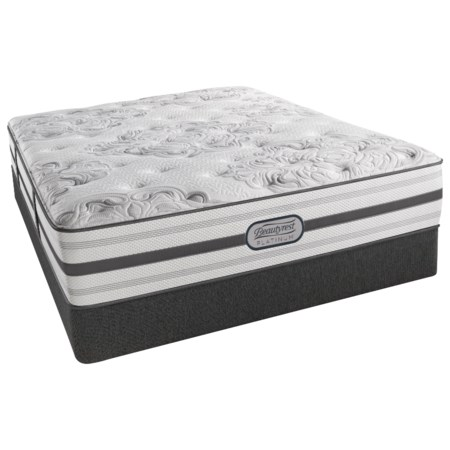 "Cal King Firm 13.5"" Mattress and 9"" Foundation"