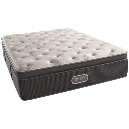 "Cal King 15"" Firm Summit Pillow Top Mattress and SmartMotion™ Base 1.0 Adjustable Base"