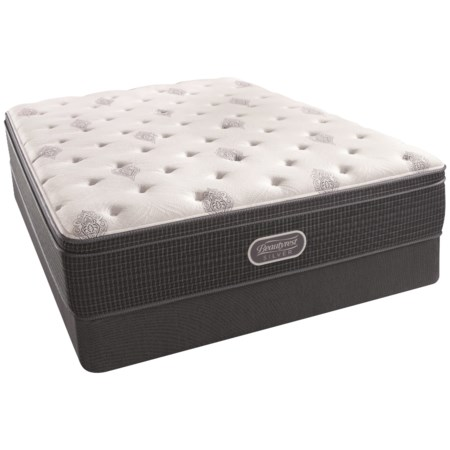 """Twin 14"""" Firm Euro Top Mattress and Triton Foundation"""