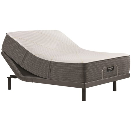 "King 14 1/2"" Firm Hybrid Mattress and Luxury Adjustable Base"