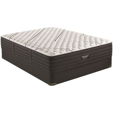 """Full 13 3/4"""" Extra Firm Pocketed Coil Premium Mattress and 9"""" Foundation"""