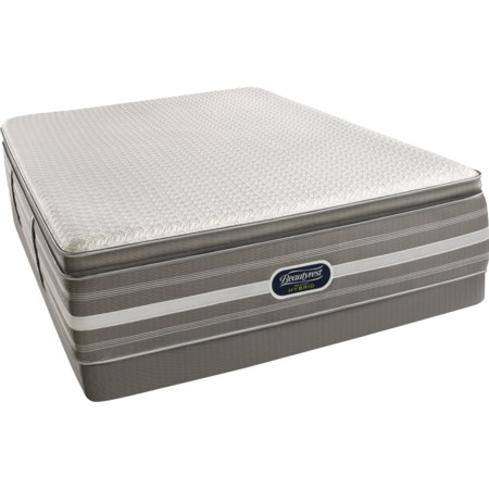 Twin Ultimate Luxury Pillow Top Hybrid Mattress and World Class Low Profile Foundation