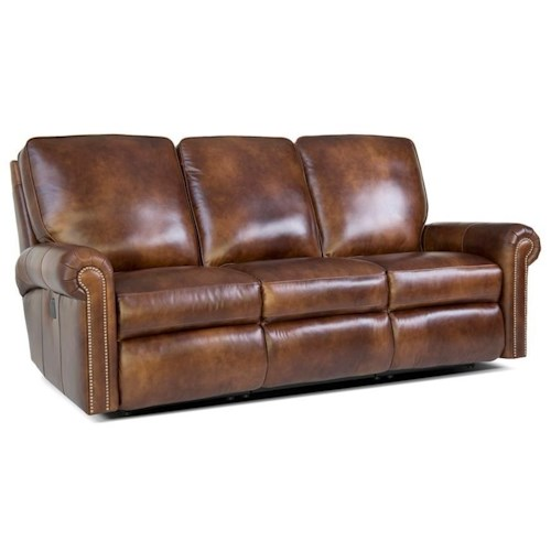 Smith Brothers 416 Traditional Reclining Sectional Sofa