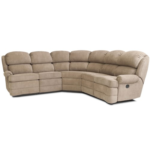 Smith brothers smith brothers transitional 5 piece for Small sectional sofa nashville