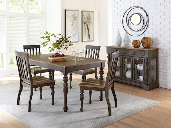 casual dining room group cumming kennesaw alpharetta. Black Bedroom Furniture Sets. Home Design Ideas