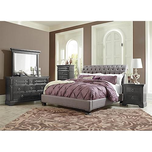 Standard Furniture Garrison King Bedroom Group Bullard Furniture Bedroom Groups Fayetteville Nc