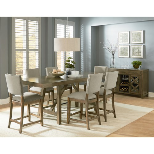 Standard Furniture Omaha Grey Casual Dining Room Group Wayside Furniture Casual Dining Room