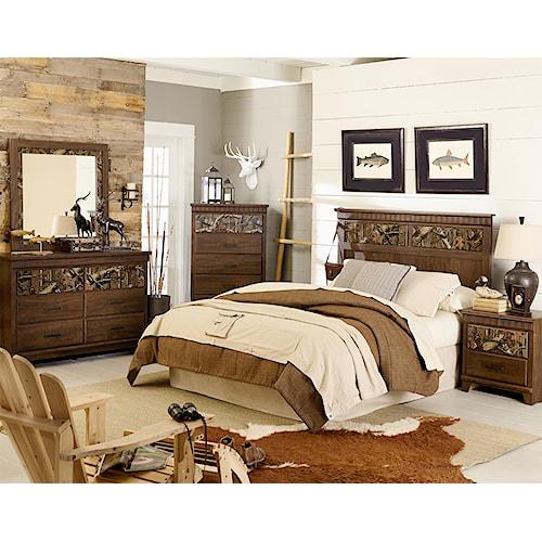 Standard furniture solitude queen bedroom group standard furniture bedroom group birmingham for Bedroom furniture huntsville al