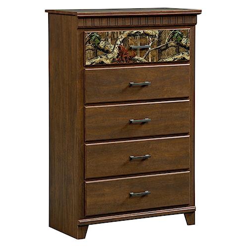 Standard furniture solitude 5 drawer chest standard furniture chest of drawers birmingham for Bedroom furniture huntsville al