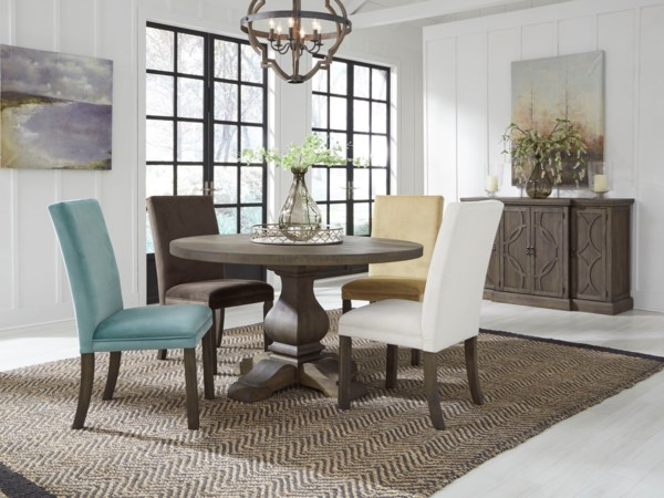 casual dining room group wilcox furniture. Black Bedroom Furniture Sets. Home Design Ideas