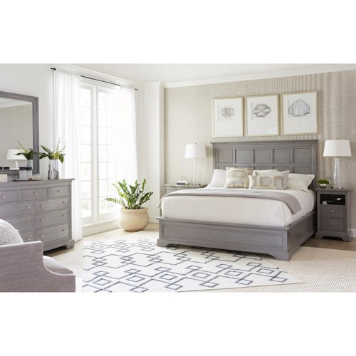 Stanley Furniture Transitional King Bedroom Group Belfort Furniture Bedroom Group