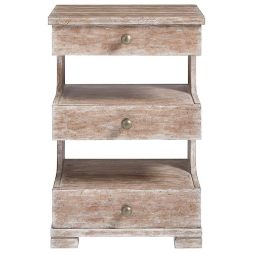 Stanley furniture juniper dell telephone table nightstand for How to make a nightstand higher