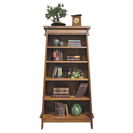 Tiered Bookshelf Tower