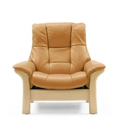 Stressless by ekornes stressless buckingham high back for High back upholstered living room chairs