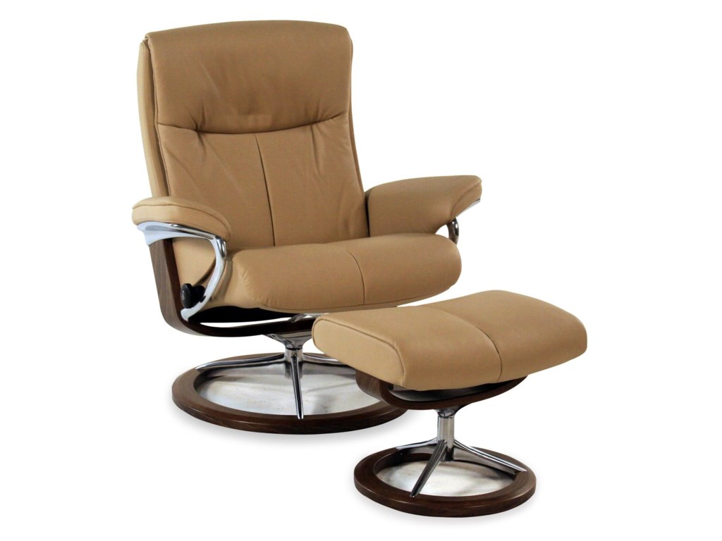 Modish Stressless by Ekornes Peace Large Signature Reclining Chair KE-01