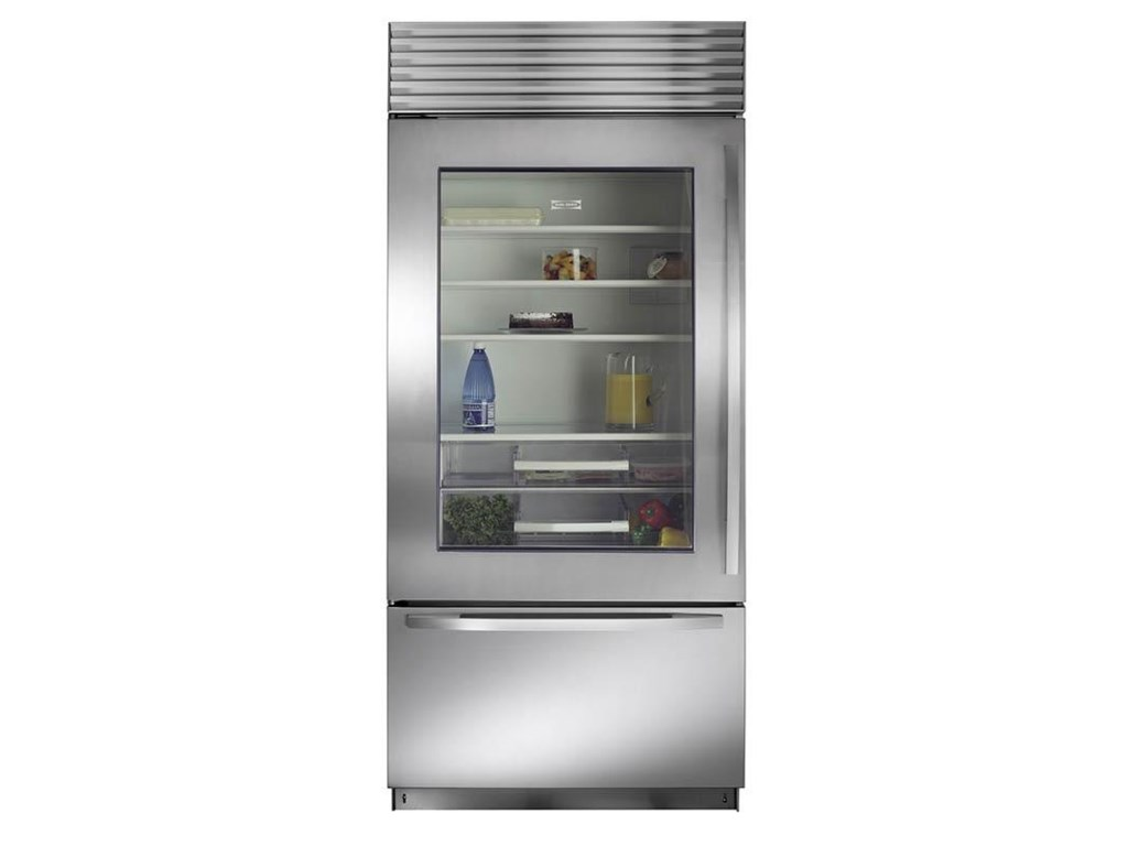 sub zero cabinet depth refrigerator 648prog fridge. Black Bedroom Furniture Sets. Home Design Ideas