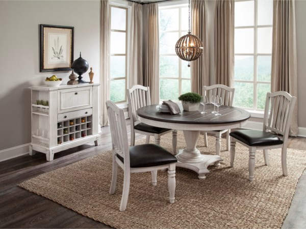 casual dining room group conlin 39 s furniture. Black Bedroom Furniture Sets. Home Design Ideas