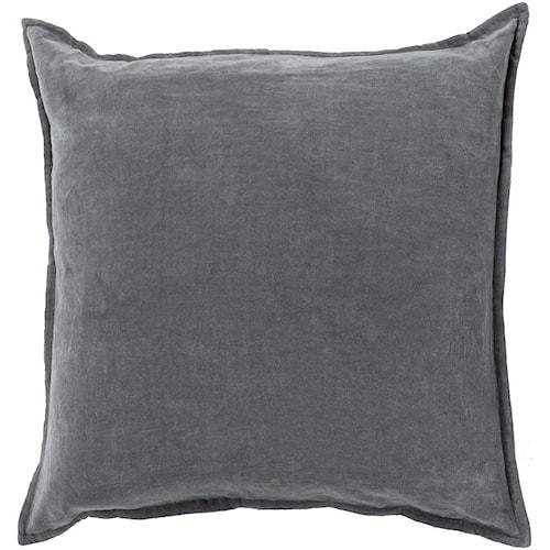 Cotton Velvet Decorative Pillows : Surya Pillows 20