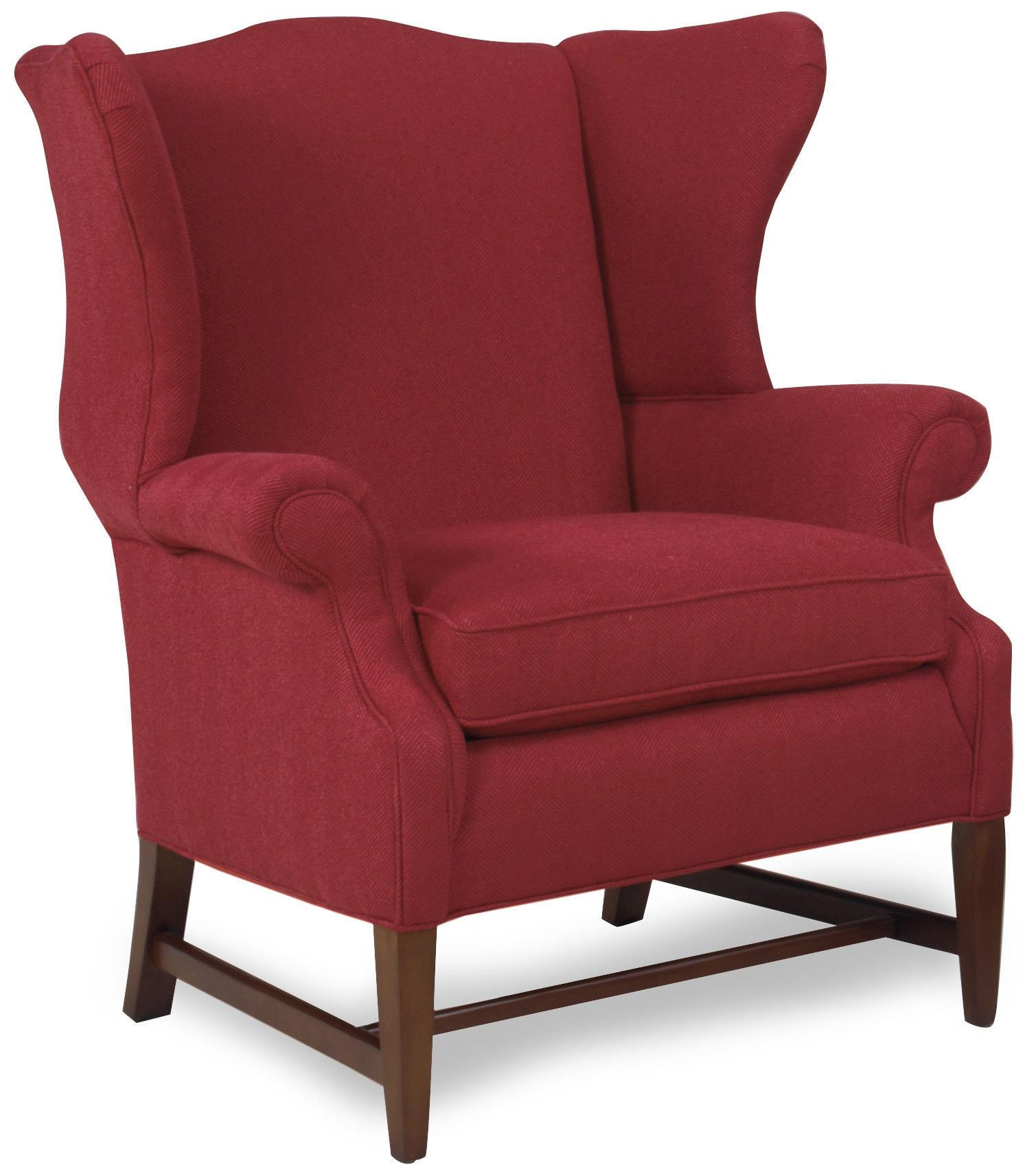 Temple Furniture Accent Chairs Traditional Wing Back Accent